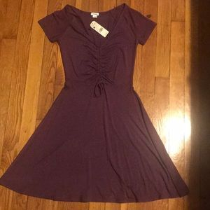 Mauve/wine Dress from Garage  & additional dress .
